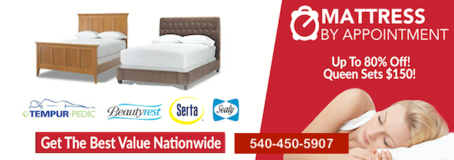 Why Pay Retail for a New Mattress? CLICK HERE and SAVE!!!!! in Fairfax, Virginia