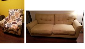 Couch and a seat in very good condition in Perry, Georgia