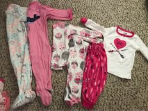 baby girl pjs in Fort Rucker, Alabama