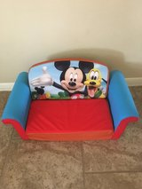 Mickey Mouse foam couch in Kingwood, Texas