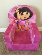 Dora the Explorer foam chair in The Woodlands, Texas