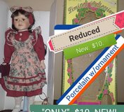 $10...Reduced...New Porcelain doll in Fort Knox, Kentucky