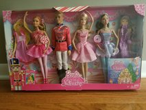 Nutcracker Barbie set 4 dolls - NIB in Naperville, Illinois