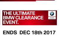 BMW ULTIMATE CLEARANCE EVENT in Grafenwoehr, GE