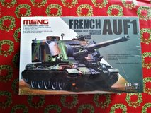 Meng 1/35 French AUF-1 155mm Howitzer in Camp Lejeune, North Carolina