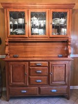 Hutch and Table with 6 chairs in Ottumwa, Iowa