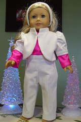 """Doll Clothes for 18"""" doll, White slack outfit in Camp Lejeune, North Carolina"""