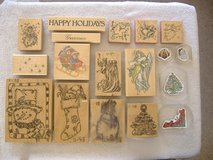 **Christmas Rubber Stamp Lot** in 29 Palms, California