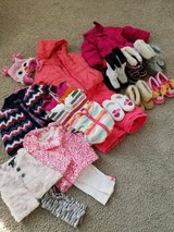 Lot of clothes, coats and boots 18mo -2t in Lockport, Illinois