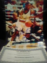 autographed Nick Anderson 8x10 in Kissimmee, Florida