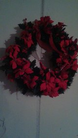 Christmas wreath in Macon, Georgia