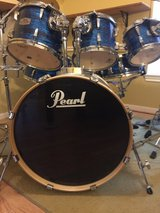 Pearl Export Series 6 Piece Drumset w 5 Cymbals in Kingwood, Texas