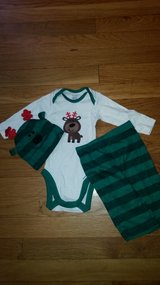 0-3 months Christmas outfit nwot in Fort Leonard Wood, Missouri