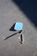 """9 1/2"""" TALL BY 6 1/2"""" WIDE ADJUSTABLE REAR VIEW MIRROR in Naperville, Illinois"""