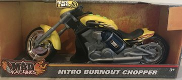 Hot Yellow Nitro Chopper Motorcycle (New in Box) in Fort Knox, Kentucky