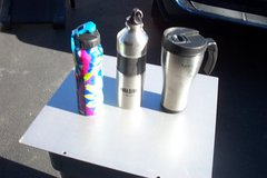 THREE ALUMINUM DRINK CUPS in St. Charles, Illinois