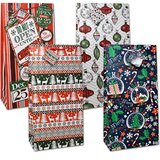 "SET OF 12 Giant Christmas Gift Bags with Handles 20"" Tall (THESE ARE  PERFECT FOR BOARD GAMES) in Clarksville, Tennessee"