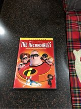 Disney Incredibles DVD in Oswego, Illinois