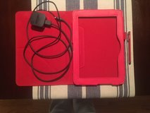 Kindle Tablet leather case, Amazon Rapid Charger and Stylus ALL for $20.00 in Colorado Springs, Colorado