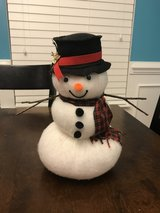 Handmade Snowman in Aurora, Illinois