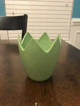 Egg Shell Flower Pot/Vase in Joliet, Illinois