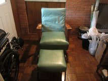 Vintage platform rocker and footstool in Livingston, Texas