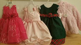 Girls Dresses and Jacket 12 mo- 2T in bookoo, US