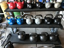 Premium kettle bell and rack in Chicago, Illinois