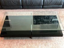 Wood & Glass coffee table + end table in Pearl Harbor, Hawaii