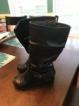Reduced: Girls Black Boots in Oswego, Illinois