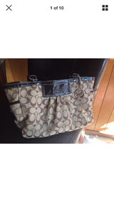 Authentic coach purse in Lawton, Oklahoma