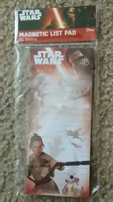 Star Wars Magnetic List Pad in Sugar Grove, Illinois