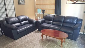 3 Piece faux leather couches set in Fairfield, California