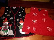 Vests for Christmas in Kingwood, Texas