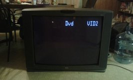 37 inch television cable ready with speaker hookups RCA jacks and computer hookups in Valdosta, Georgia