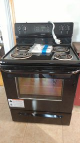 Frigidaire black coil electric range with cord in Elizabethtown, Kentucky