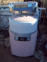 Vintage washing machine in Yucca Valley, California