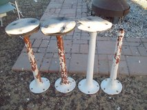 Ice cream shop stool bases. in Yucca Valley, California