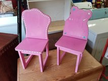 Two Small Pink Chairs! in Warner Robins, Georgia