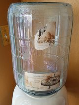 Vintage water bottle and dispenser in 29 Palms, California