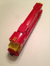 Vintage HO-Scale Rock Island Train Locomotive #4301 in Naperville, Illinois