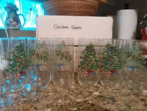 12 Christmas glasses in Norfolk, Virginia