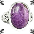 New - Purpurite Gemstone 925 Sterling Silver Ring - Size 8 in Alamogordo, New Mexico