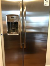 GE Stainless Steel Fridge in Fort Meade, Maryland