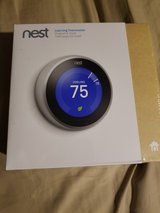 NEST Learning Thermostat system, 3rd Generation **NEW IN BOX** in Fort Leonard Wood, Missouri