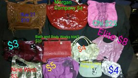 Bunches of Purses in Cherry Point, North Carolina