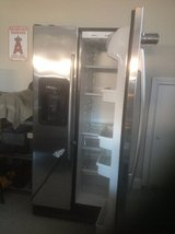 Stainless Side by Side Refrigerator in Fort Campbell, Kentucky