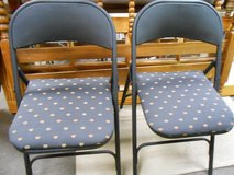 2 Folding Chairs in Cherry Point, North Carolina