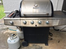 Gas Grill and tanks in Okinawa, Japan