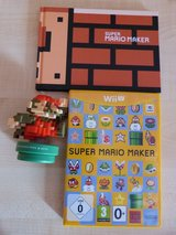 WiiU Super Mario Maker + amiibo 8-Bit Mario Figure + Artbook -Limited Edition Pack in Spangdahlem, Germany